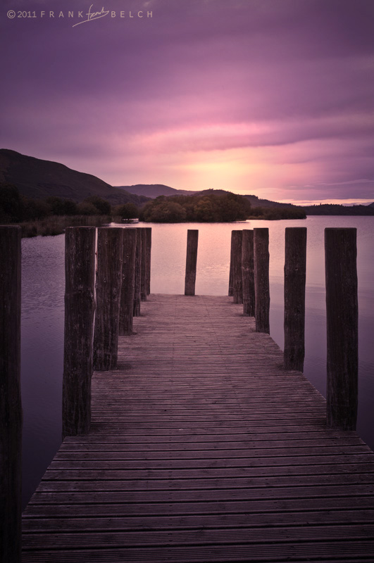 A jetty on Derwentwater.