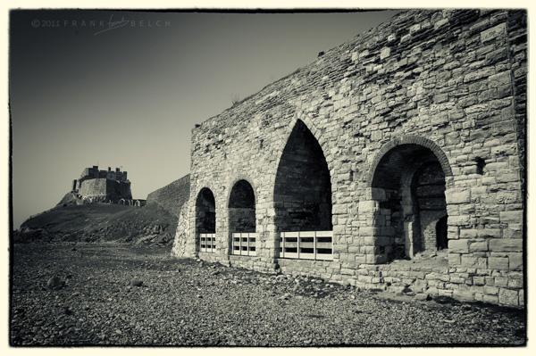 Lime Kilns and Lidisfarne Castle