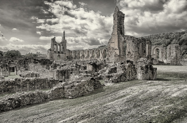 Byland Abbey ruins