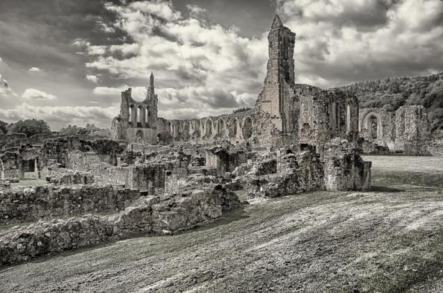 Byland Abbey ruins