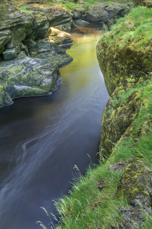 The River Wharfe at the Strid.