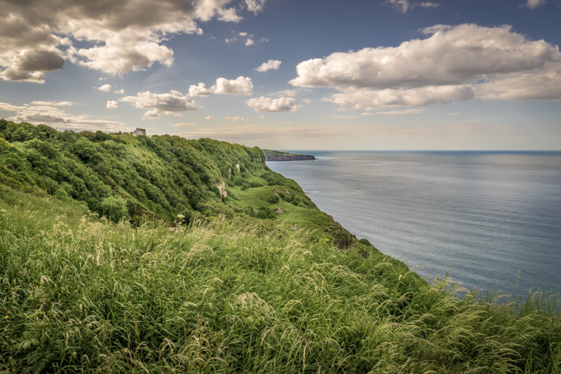 A view from the Clevelnd Way towards Ravenscar.